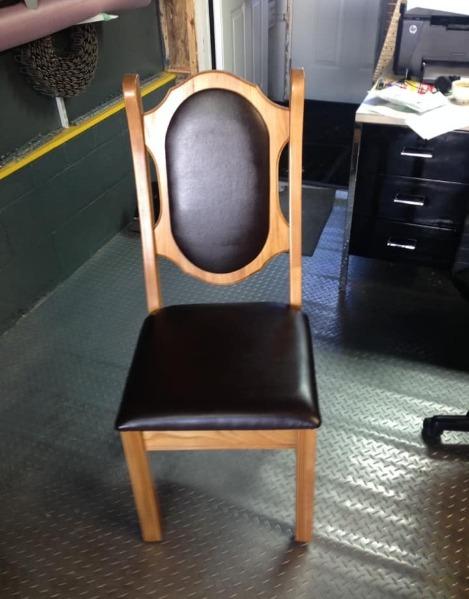 Photo d'une chaise
